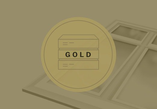 Gold replacement windows