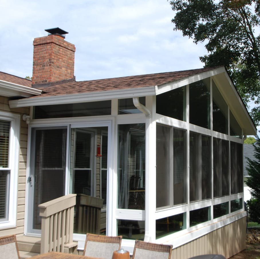 sunrooms and patio enclosures nc sc taylors windows