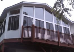 Sunrooms and Enclosures with Replacement Windows